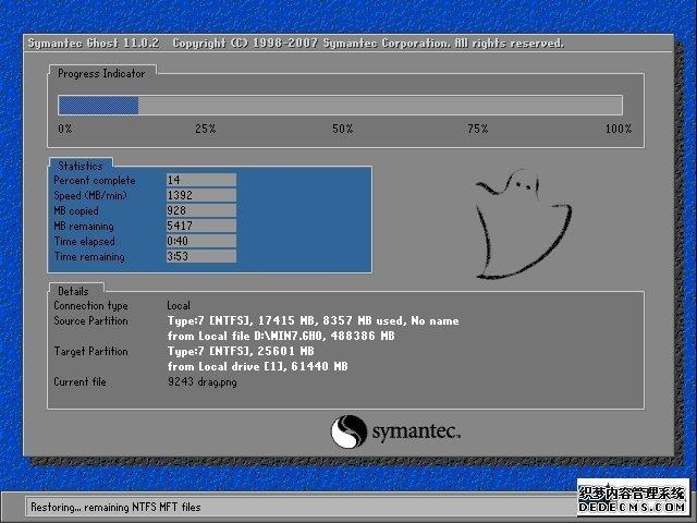 深度技术 Ghost Win7 32位纯净版 v2019.11